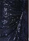 Hurley Lacivert Omzu Açık İşlemeli Maksi Elbise