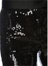 Siyah Payet İşlemeli Abiye Pantolon