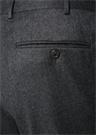 Drop 7 Gri Normal Bel Boru Paça Yün Pantolon