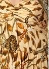 All I ve Ever Leoparlı Fırfırlı İpek Maksi Elbise