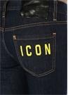 Icon Jennifer Düşük Bel Crop Jean Pantolon