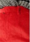 Jill Monroe Fit Kırmızı Bol Paça KadifePantolon
