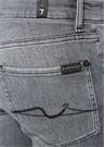 Slimmy Tapered Fit Gri Jean Pantolon