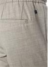 Gri Normal Bel Çift Pileli Yün Pantolon