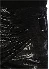 Catina Siyah İşlemeli Drapeli Mini Etek