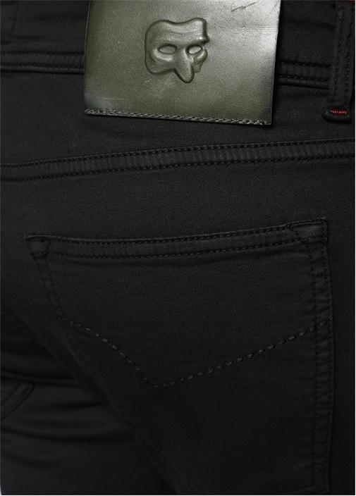 Siyah Normal Bel Aksesuar Detaylı Pantolon