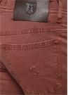 Kırmızı Normal Bel Boru Paça Pantolon