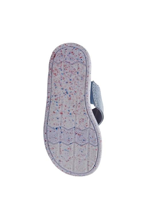 Viv Mavi Çapraz Bantlı Unisex Çocuk Sandalet
