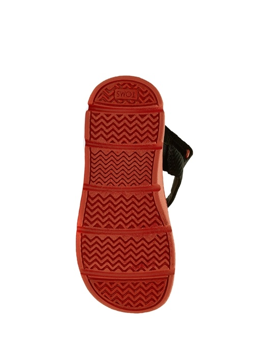 Ray Siyah Turuncu Unisex Çocuk Sandalet