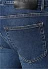 George V Lacivert Normal Bel Jean Pantolon