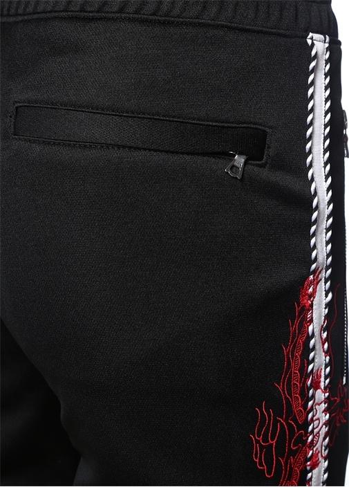 Souvenir Siyah Şeritli Jogger Eşofman Altı