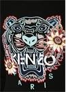 Siyah Kaplan İşlemeli Logo Detaylı Sweatshirt