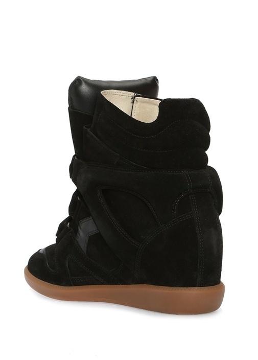 Bekett Siyah Kadın Süet Sneaker