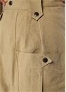 Yerris Bej Yüksek Bel Boru Paça Pantolon