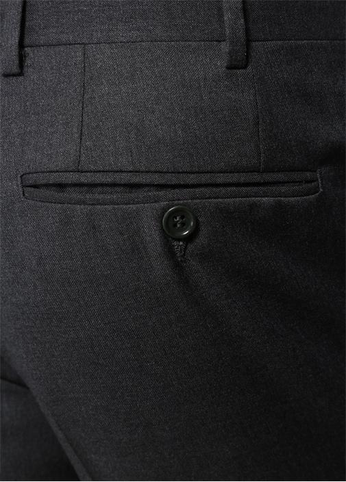 Drop 6 Antrasit Boru Paça Yün Pantolon