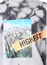 Yosemite Batik Desenli Fotoğraf BaskılıSweatshirt