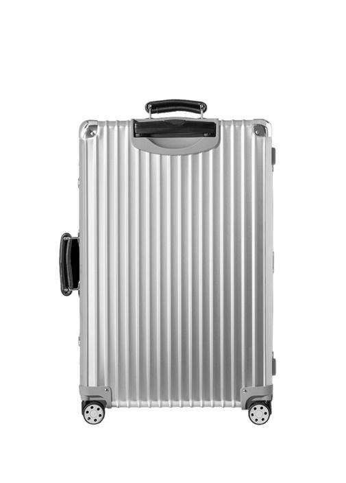 Classic Check In Medium Silver Bavul