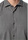 Antrasit Modern Yaka Gömlek