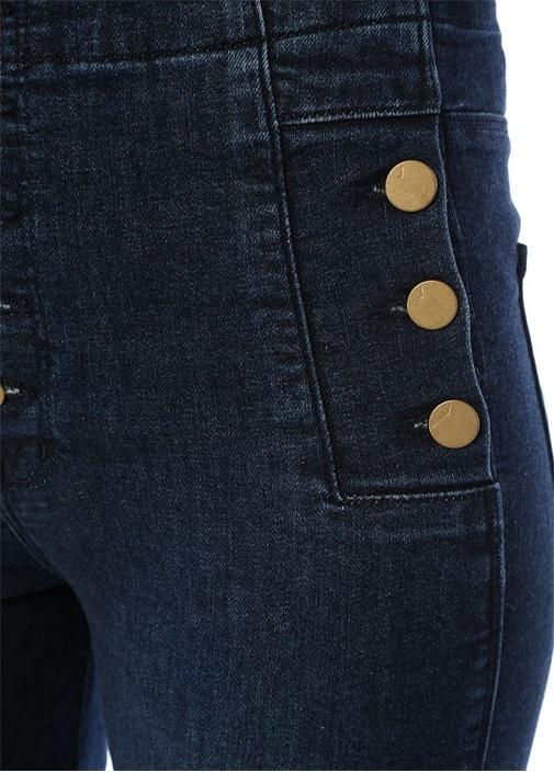 Natasha Yüksek Bel Crop Skinny Jean Pantolon
