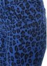 835 Mavi Leopar Desenli Crop Skinny Jean Pantolon