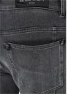 Slim Fit Gri Normal Bel Jean Pantolon