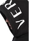 VersaceXFord Siyah Kapüşonlu Patchli Sweatshirt