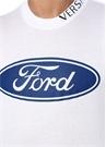 X Ford Beyaz Baskılı T-shirt