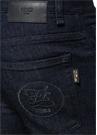 Slim Fit Lacivert Logo Patchli Jean Pantolon