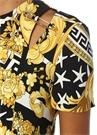 Savage Barocco Siyah Kesim Detaylı MiniElbise