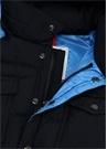 Vilbert Lacivert Kapüşonlu Logolu ErkekÇocuk Mont