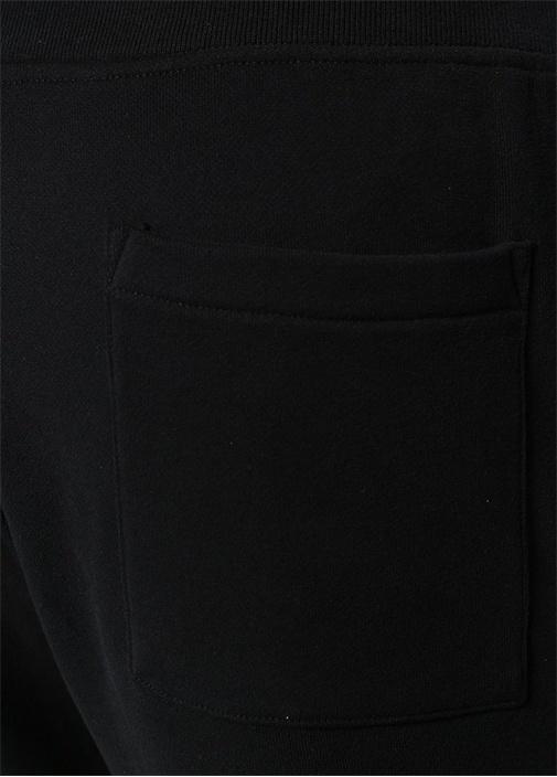 Raven Siyah Logo Nakışlı Jogger EşofmanAltı