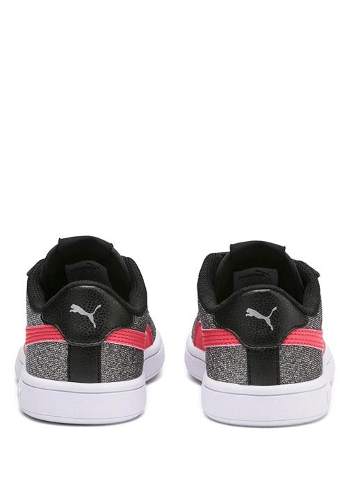 Smash v2 Glitz Glam Siyah Silver Kız Çocuk Sneaker