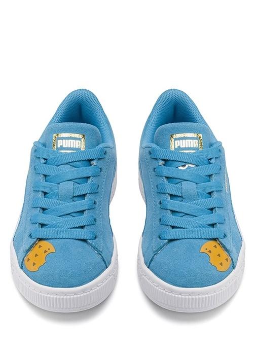 Sesame Street 50 Mavi Erkek Çocuk Süet Sneaker