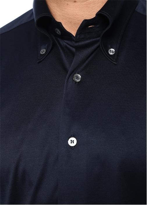 Arizona Lacivert Düğmeli Yaka Gömlek