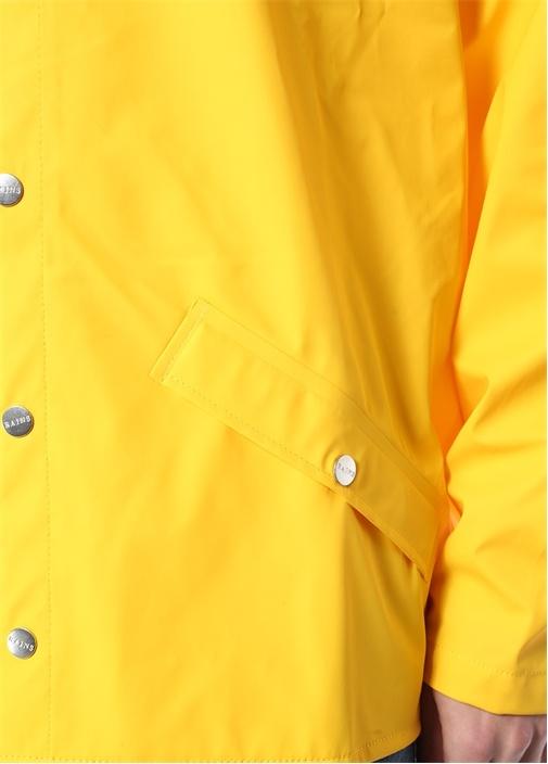 Sarı Kapüşonlu Yağmurluk