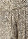 Avillon Silver İşlemeli Maksi Abiye Elbise