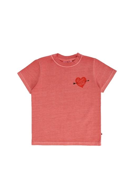 Reeve Pembe Baskılı Kız Çocuk Sweatshirt