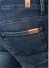 Kayden Slim Straight Fit Lacivert Jean Pantolon