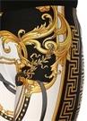 Gold Siyah Barok Desenli Tayt