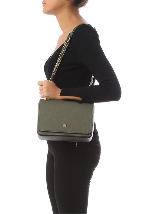 Cindy Haki Logolu Kadın Çanta