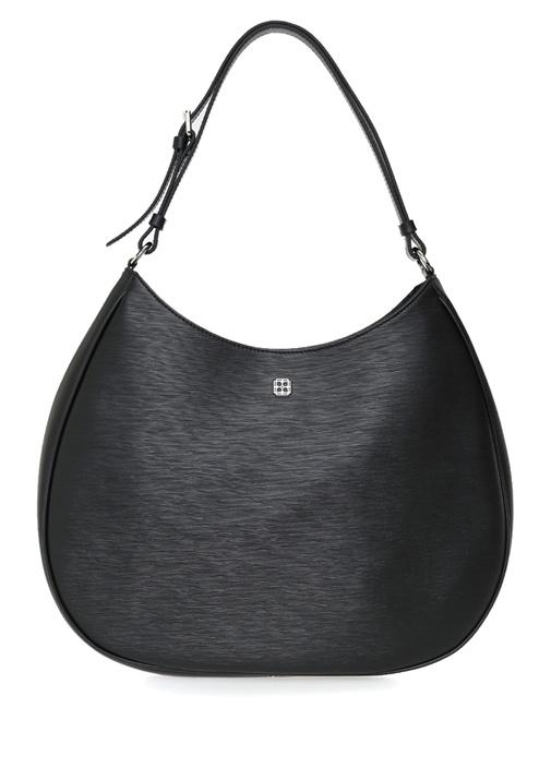 Bella Büyük Siyah Logolu Kadın Omuz Çantası
