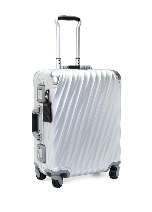 Continental Beyaz 35 Litre Orta Boy Unisex Bavul