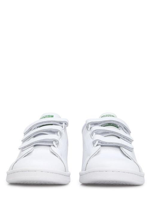 Stan Smith Beyaz Yeşil Erkek Sneaker