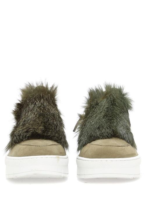 Nefti Deri Kadın Sneaker