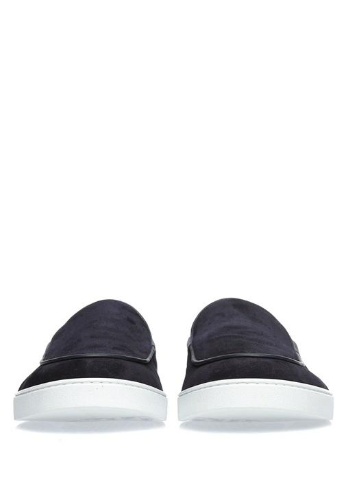 Scott Deri Lacivert Erkek Sneaker
