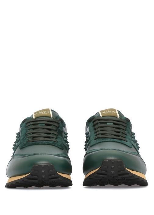 Valentino Garavani Rockstud Erkek Deri Sneaker
