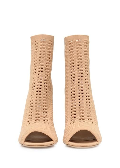 Pembe Çorap Formlu Önü Açık Kadın Bot