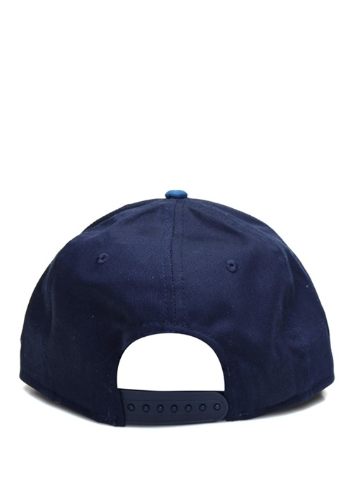 Lacivert Patchli Dekoratif Dikişli Erkek Şapka