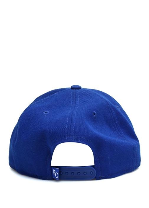 Lacivert Yazı Nakışlı Erkek Şapka
