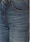 Mavi Yüksek Bel Düz Paça Jean Pantolon